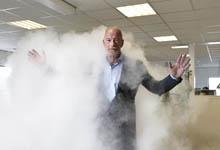 FD Innovator Frank Bakker, directeur Contronics fabrikant van mi